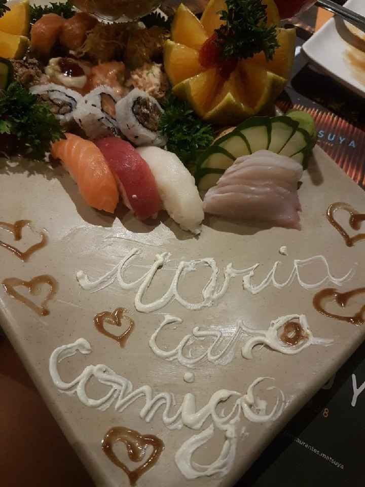 Pedido de casamento #vemver - 1
