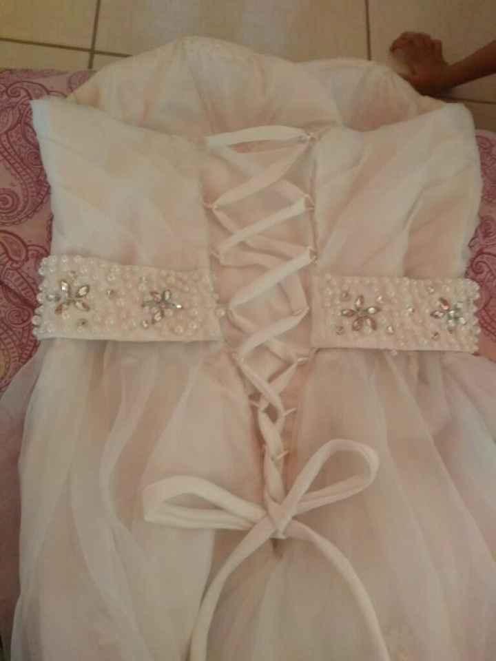 Costas do vestido #vemver #ajuda - 1