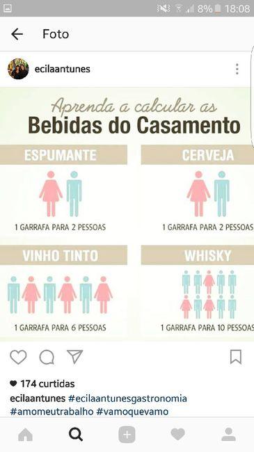 Cálculo de bebidas - 1