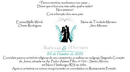 Textos Divertidos Para O Convite De Casamento