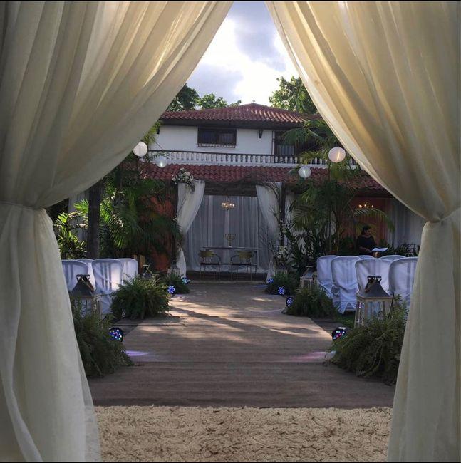 Fotos do nosso local de casamento. - 1