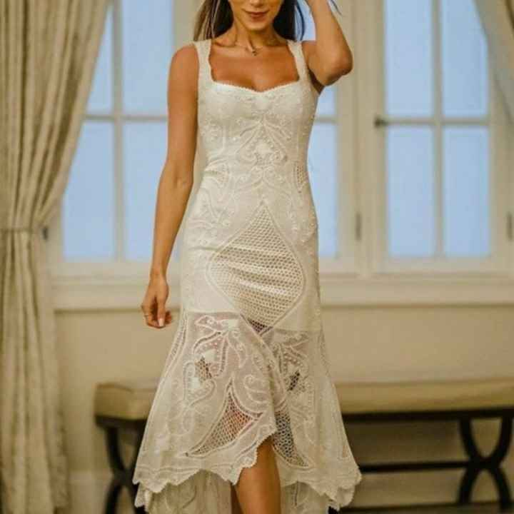 Casamento civil sem usar branco - 2
