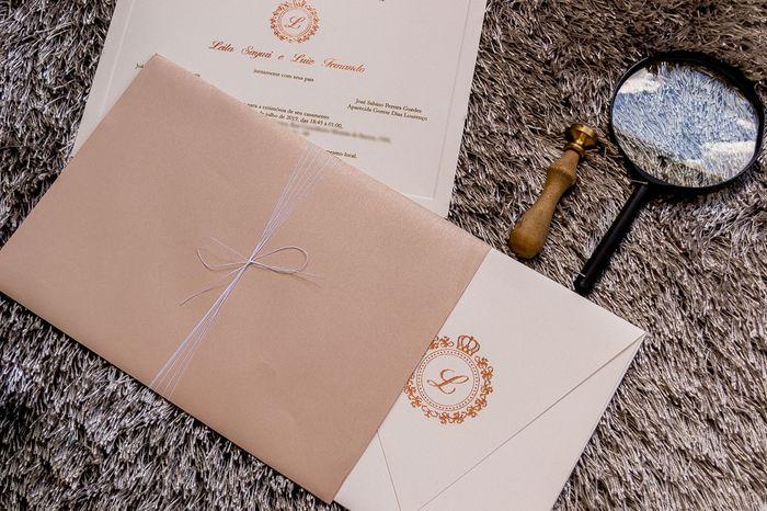 Convites de casamento na cor rosa 3