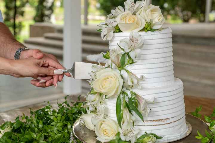 Casamento civil em Tiradentes: Nossa recepção bolo e champanhe - 1