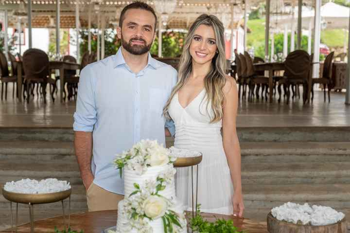 Casamento civil em Tiradentes: Nossa recepção bolo e champanhe - 5
