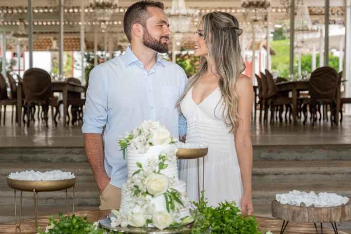 Casamento civil em Tiradentes: Nossa recepção bolo e champanhe - 6