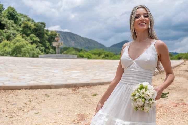 Mini buquê em casamento civil? 💐 - 1