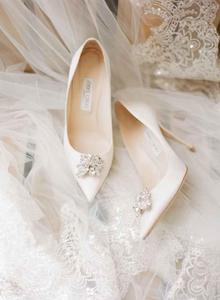 Para a Cinderela morrer de inveja: Inspirações de sapatos para noivas de estilo princesa - 1