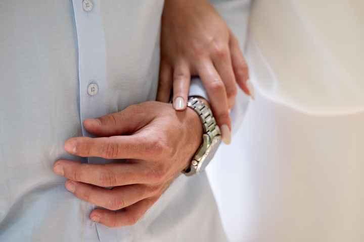 Minhas unhas de noiva 💅👰 #vemver - 1