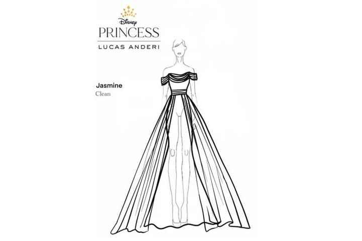 Lucas Anderi lança coleção de vestidos de noiva inspirados nas princesas da Disney - 21