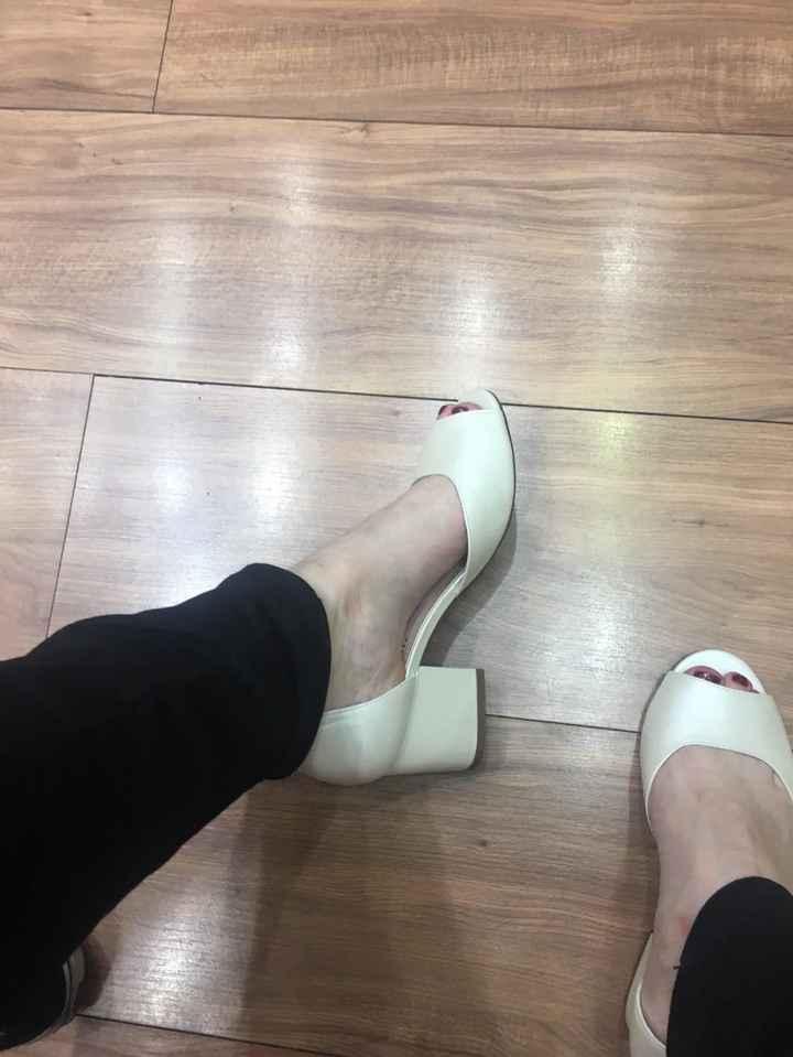 Comprei meu sapato de noiva! - 1