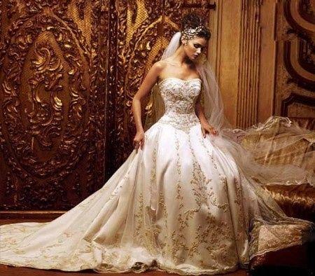 0903eda5c6 Vestido de noiva princesa