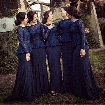 Madrinha pode usar vestido azul marinho