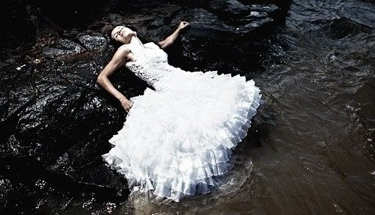 Ensaio trash the dress