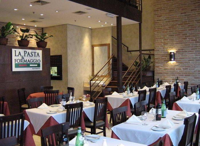 Restaurante italiano que farei o almoço do civil