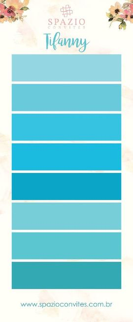 qual tipo de Azul? - 1