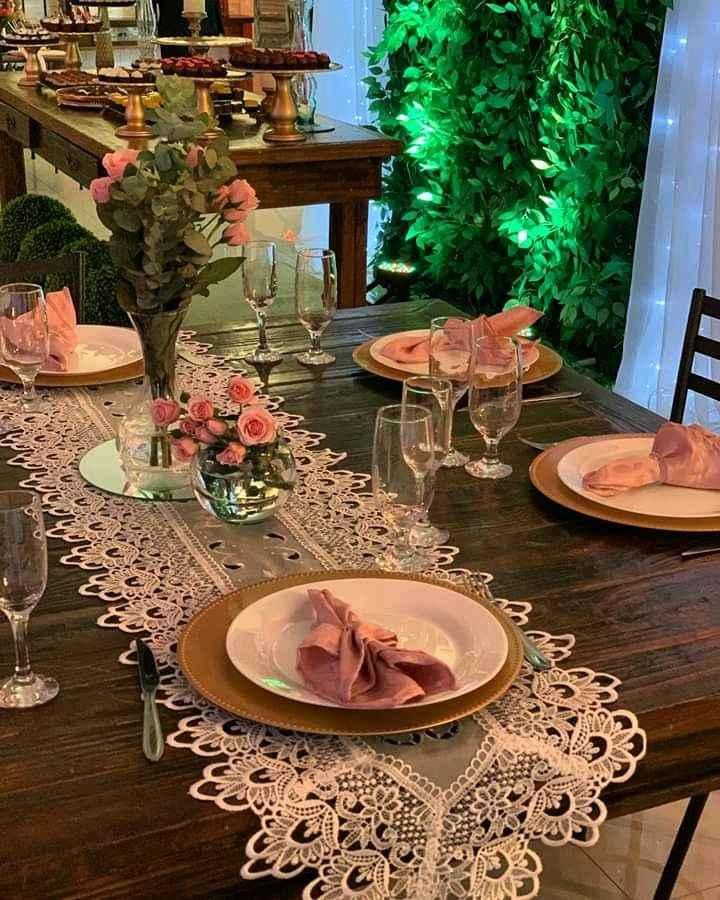 Mesa dos noivos! - 1