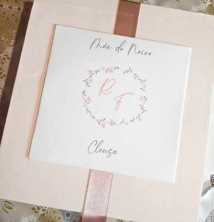 Presente: Pais da Noiva, Irmã e Sogra ❤ - 5