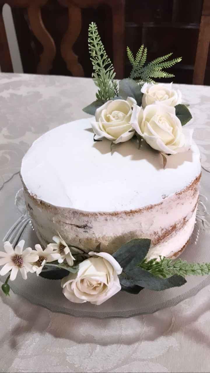 Meu bolo de noivado #vemver - 1