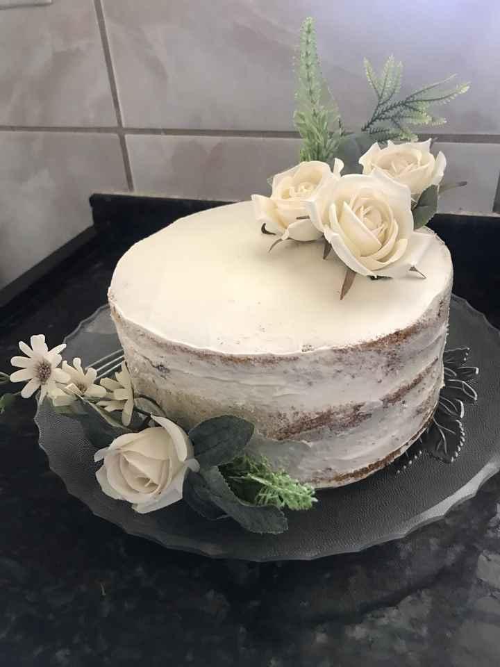 Meu bolo de noivado #vemver - 2