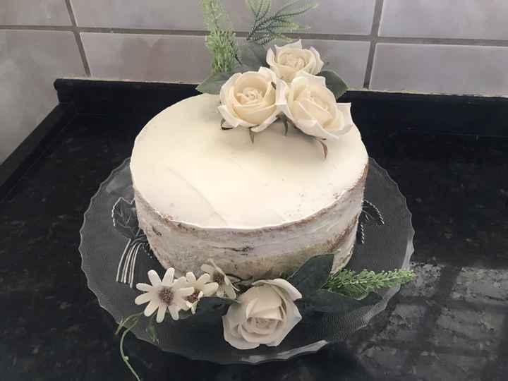 Meu bolo de noivado #vemver - 3
