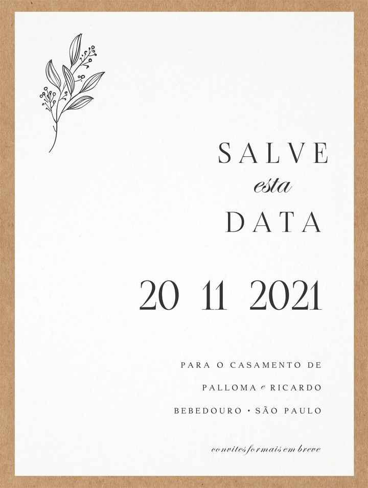 Save the Date - Arte - 1