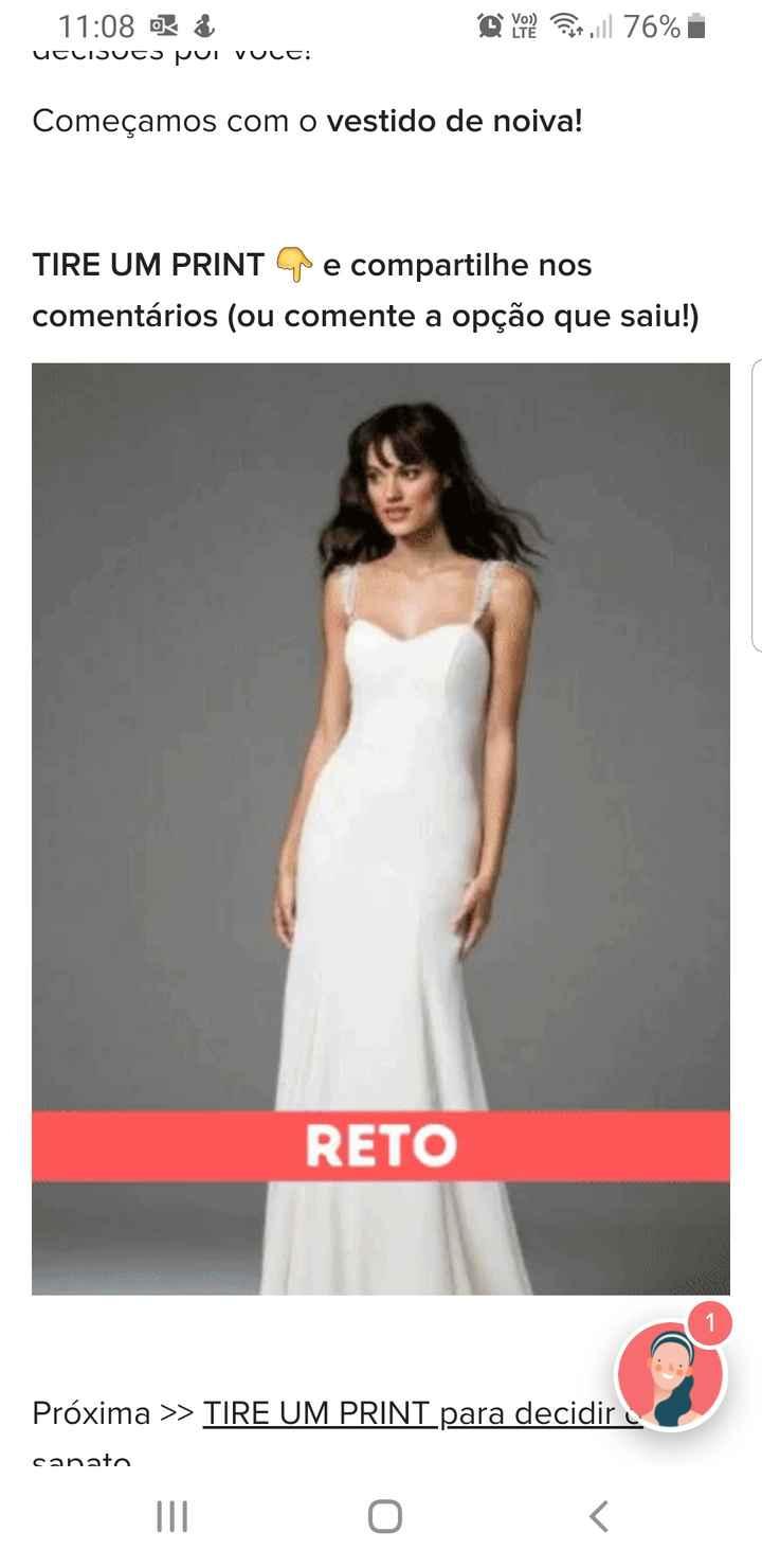 TIRE UM PRINT para decidir o vestido 24