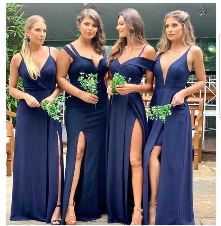 Cor do vestido das Madrinhas! 👗 - 2