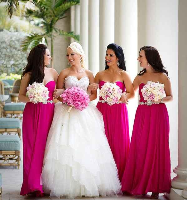 Madrinhas de Rosa Pink 💕 - 1