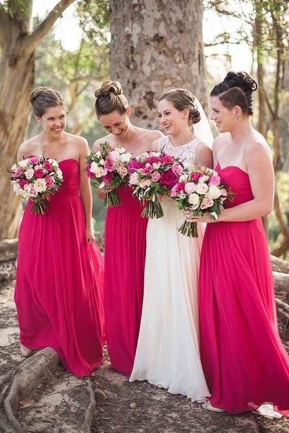 Madrinhas de Rosa Pink 💕 - 4