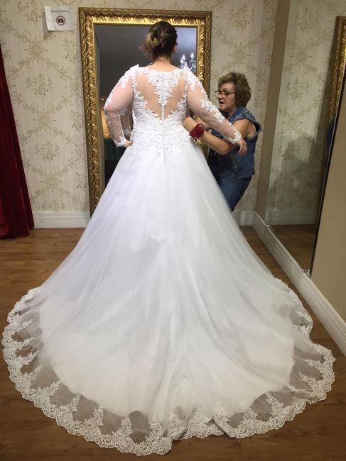 Casei! Minhas escolhas de vestido de noiva e véu 2