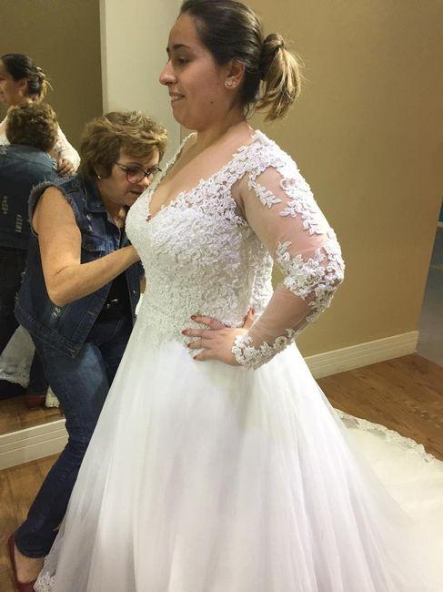 Casei! Minhas escolhas de vestido de noiva e véu 3