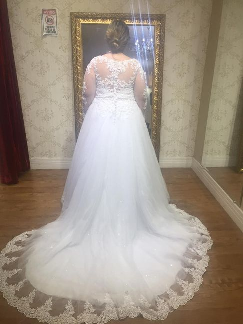 Casei! Minhas escolhas de vestido de noiva e véu 6