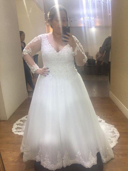 Casei! Minhas escolhas de vestido de noiva e véu 7
