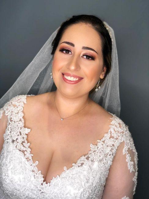 Casei! Minhas escolhas de vestido de noiva e véu 11
