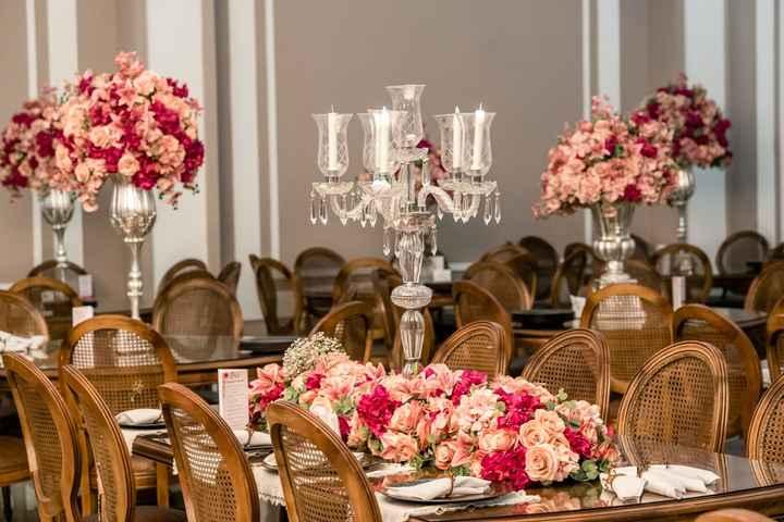 Casamentos reais 2019: o centro de mesa - 1
