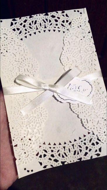 Convite de noivado diy 1