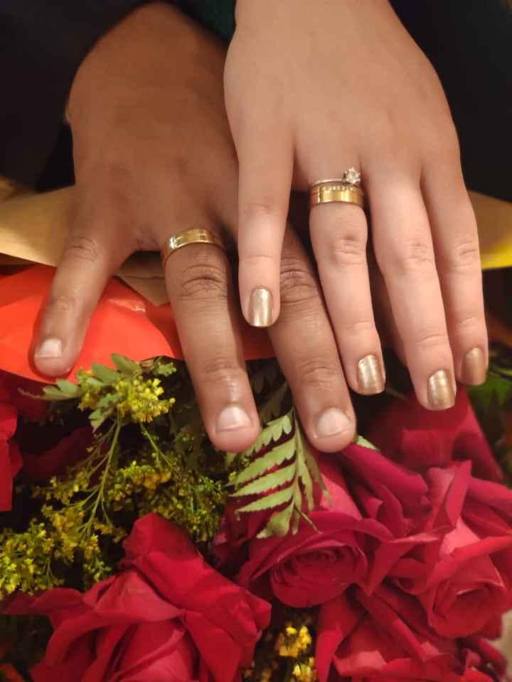 Fiquei noiva no dia dos namorados!!