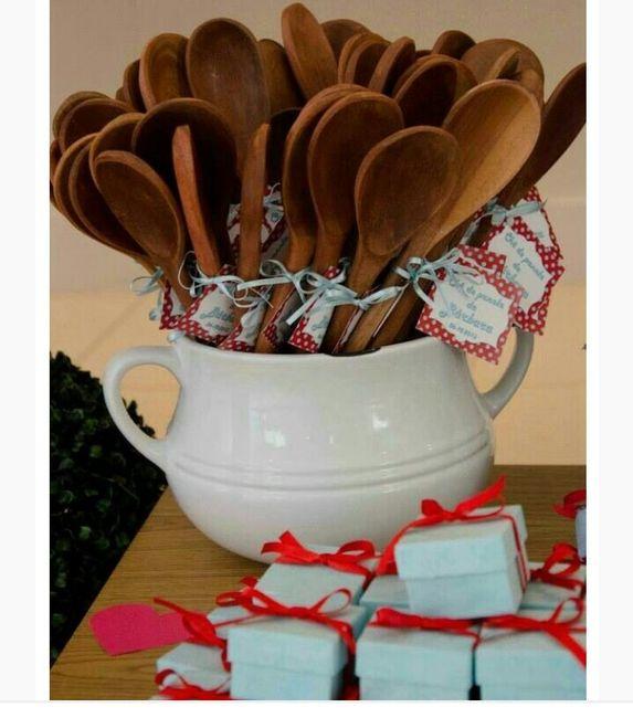 Convites e lembranças chá de panela - 3