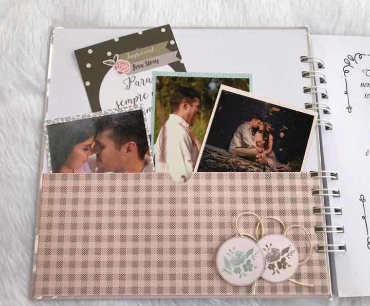 Scrapbook de Mensagens aos Noivos #vemver - 2