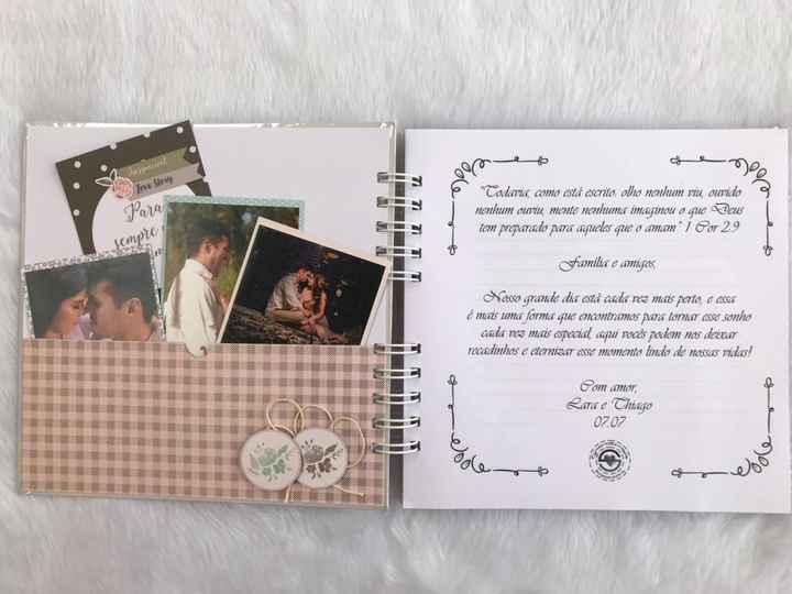 Scrapbook de Mensagens aos Noivos #vemver - 3