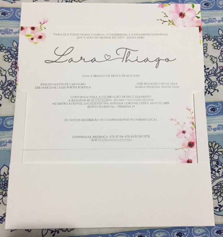 Convites do Casamento #vemver - 1