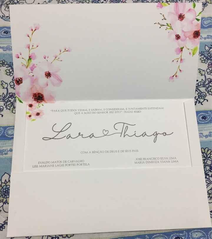 Convites do Casamento #vemver - 2