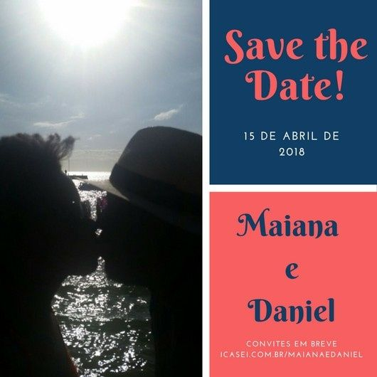 Save the date rústico e digital 5