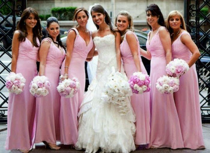 099a5cf8b Cor do vestido de madrinhas no casamento de dia - 1