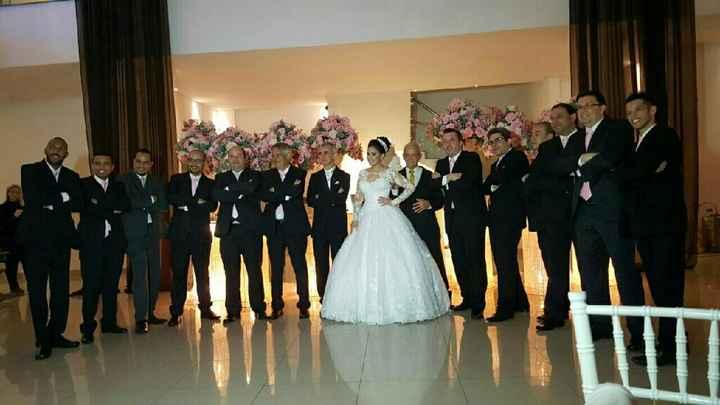 Vestido para noivas baixinhas - 1