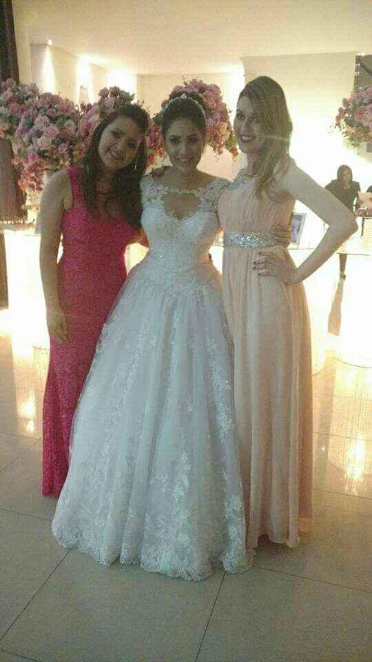 Vestido para noivas baixinhas - 2