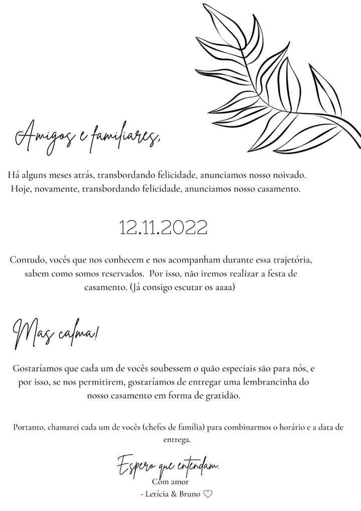 Comunicado + Save the Date - 1