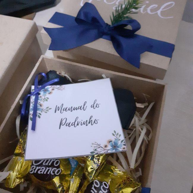 Convite padrinhos ♡ 2