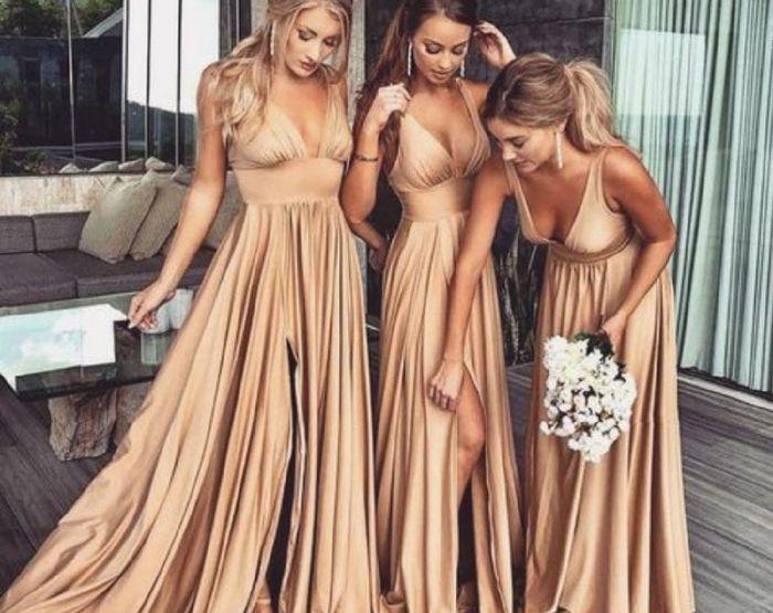 Cor dos vestidos das madrinhas - 1